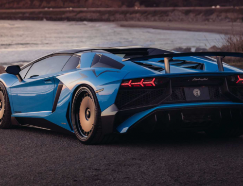 This Lamborghini Aventador SV Wears A Rather Unusual Set Of Rims