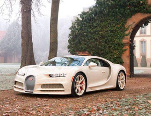 Bugatti Chiron : un exemplaire unique habillé par Hermès